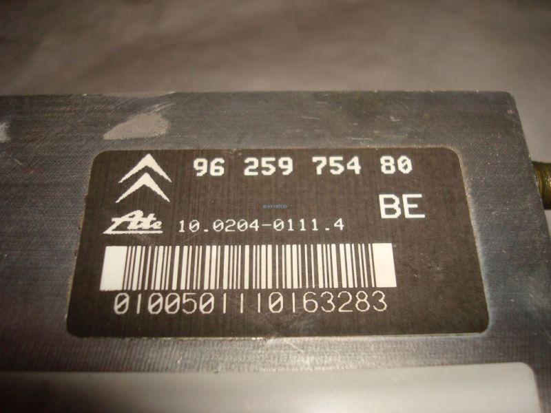 ABS Steuergerät Hydraulikblock CITROEN XANTIA 2.0 16V SX