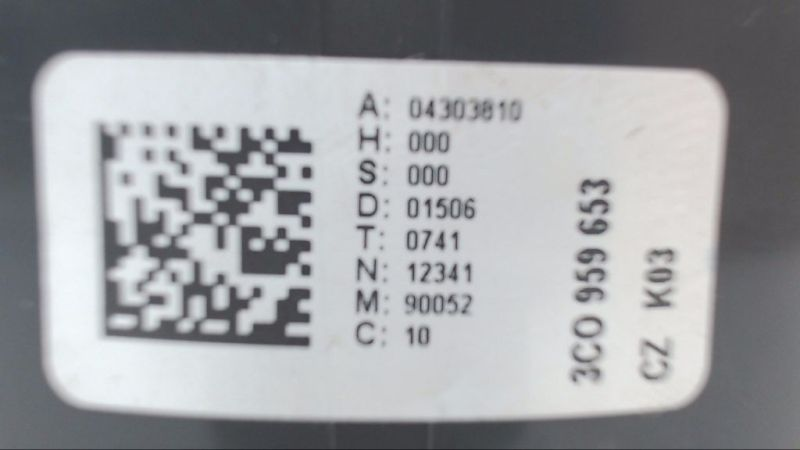 Airbag Schleifring Wickelfeder VW PASSAT VARIANT (3C5) 2.0 TDI