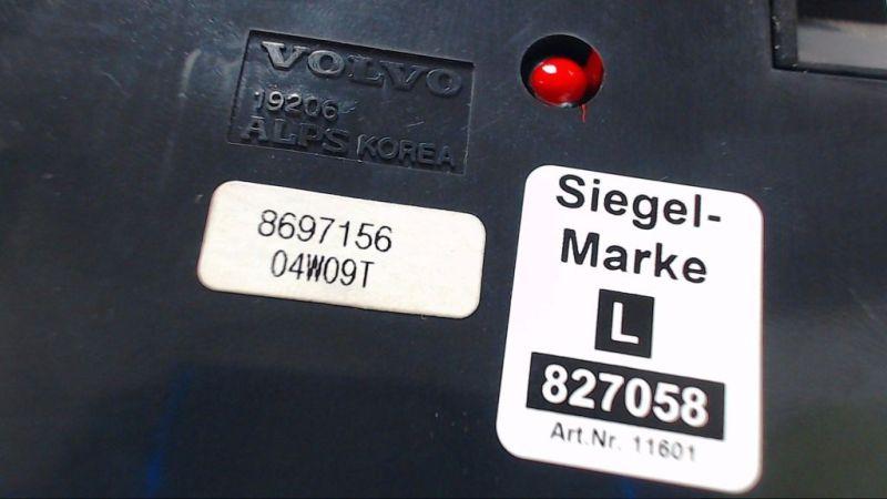 Schalter Bedienfeld Heizung Klima TelefonVOLVO V50 (MW) 2.0 D