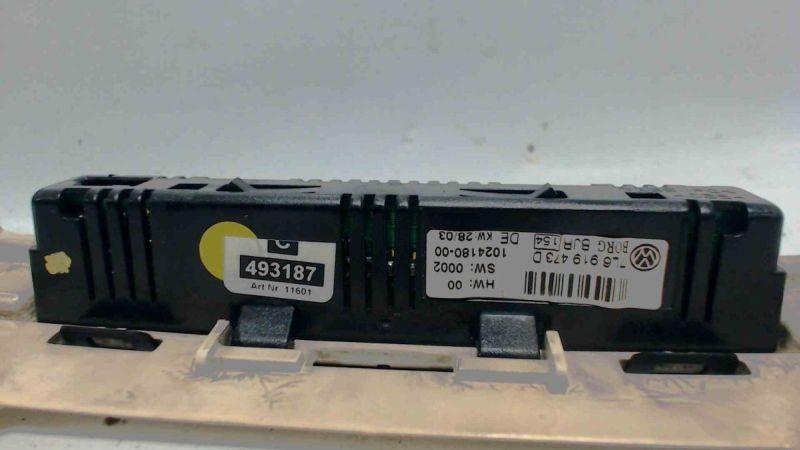 Display Anzeige Warndisplay Einparkhilfe vorneVW TOUAREG (7LA, 7L6, 7L7) 2.5 R5 TDI