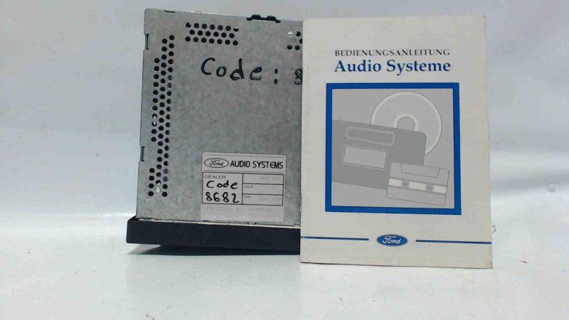 CD-Radio 6000 CD RDS EON - MIT CODEFORD GALAXY TDI TREND
