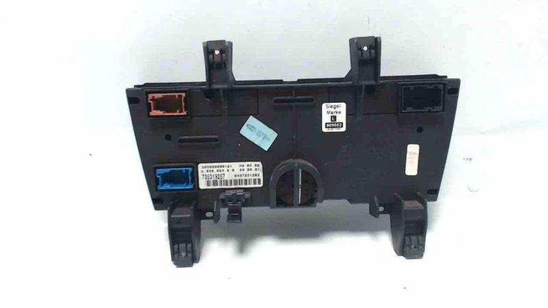 Heizungsbetätigung Klimabedienteil FIAT STILO 1.8 16V DYNAMIC