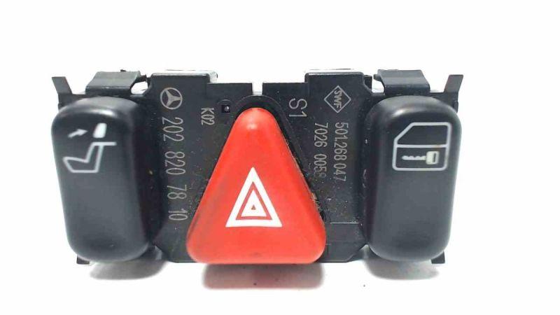 Schalter Warnblinker ZV, KopfstützeMERCEDES-BENZ C 180 CLASSIC (C 180)