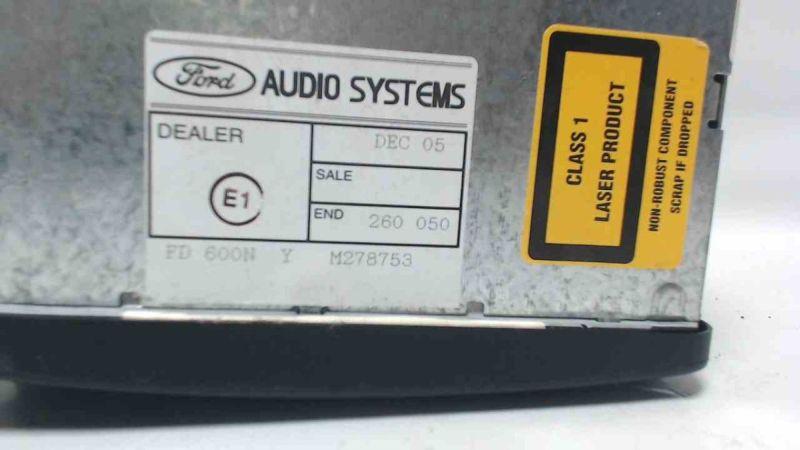 CD-Radio 6000 CD  RDS E-O-N - MIT CODEFORD FOCUS (DAW, DBW) 1.6 16V