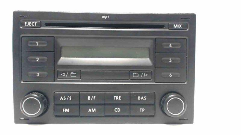 CD-Radio RCD 200 - mp3 - mit CODEVW FOX (5Z1, 5Z3) 1.2