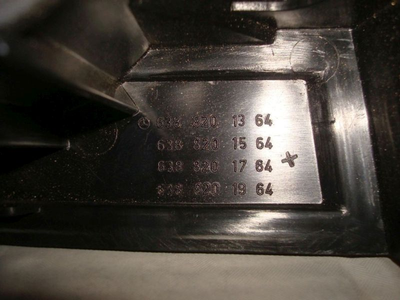 Heckleuchte Rücklicht rechts MERCEDES-BENZ VITO 110 D L